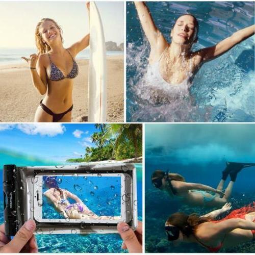Waterproof Underwater Bag Cover Iphone Samsung Cell