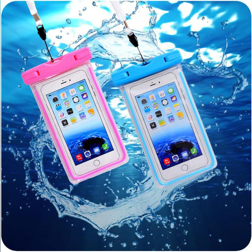 waterproof underwater phone pouch bag case cover