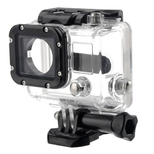 waterproof underwater protective housing case with glass