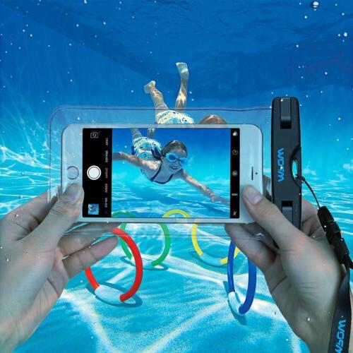 Mpow Waterproof Pouch Dry Case Cover iPhone Phone
