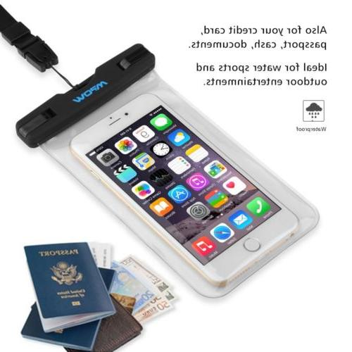 Mpow Underwater Pouch Dry Cover For iPhone Phone