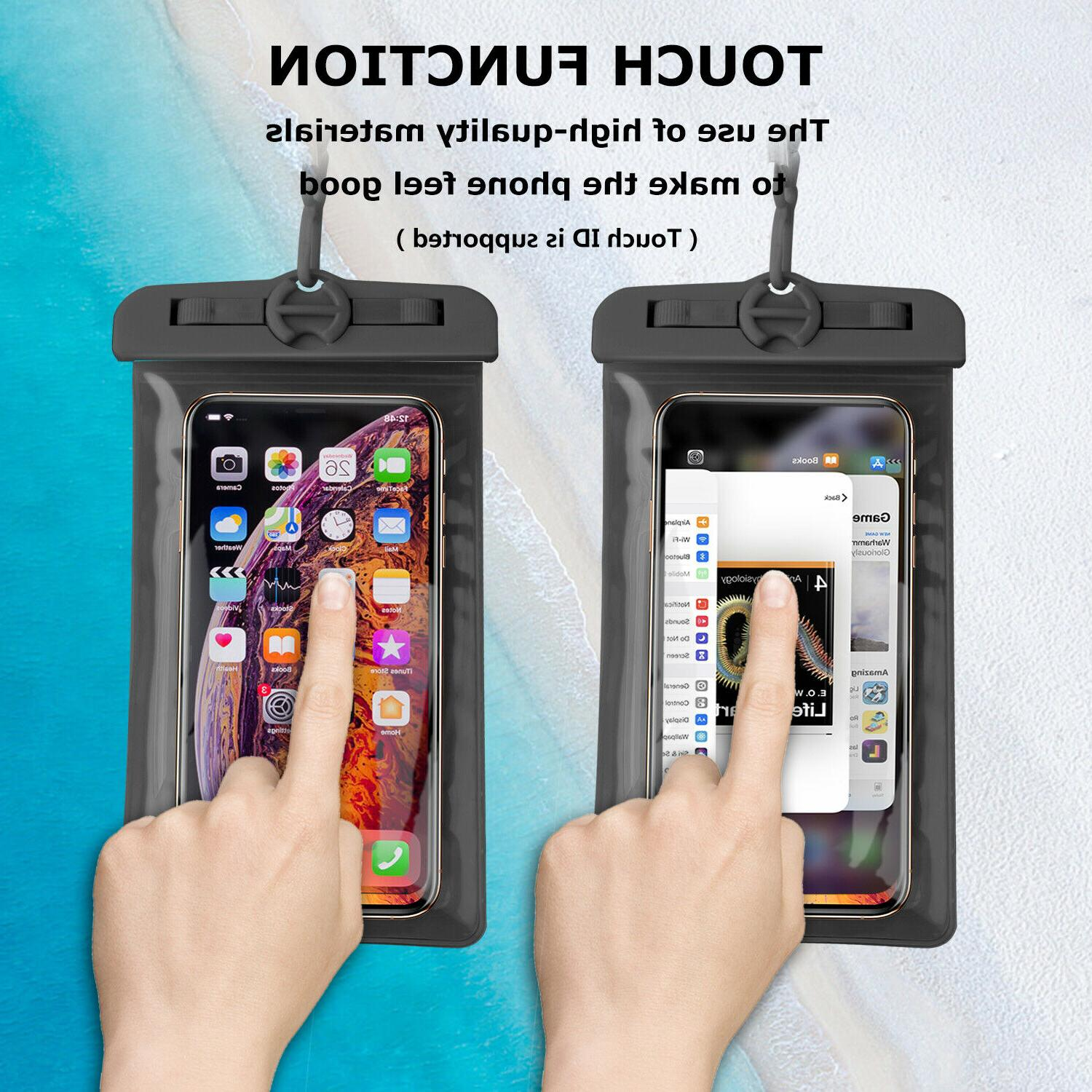Waterproof Underwater Swimming Dry Bag For iPhone/Samsung/Cell