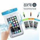 3 pack Mpow Waterproof Underwater Touch Screen Dry Pouch Bag