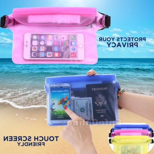 waterproof waist pouch bag dry underwater case
