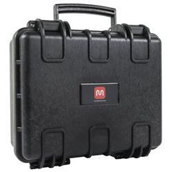 "Weatherproof Hard Case with Customizable Foam, 13"" x 12"" x 6"