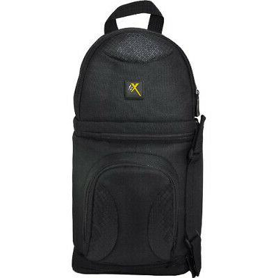 Xit XTBPS Deluxe Digital Camera/Video Sling Style Shoulder B