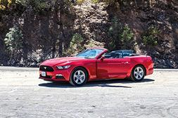 LAMINATED 36x24 Poster: Drive Car Red Ford Mustang Natural R