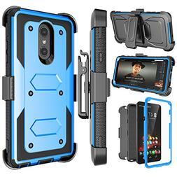 LG Stylo 4 Case, LG Q Stylus Holster Clip, Njjex  Shockproof