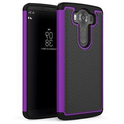 LG V10 Case, MoKo  Slim Dual Layer Protective Case with Soft
