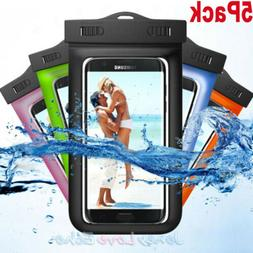 Lot Underwater Pouch Dry Bag Case Waterproof Fit iPhone Sams