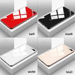 Luxury Mirror Plating Glass <font><b>Case</b></font> for <fo