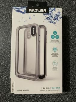 Pelican Marine Clear Waterproof Case For iPhone XS Max NEW I