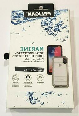 Pelican Marine Series Waterproof Case for iPhone X & iPhone