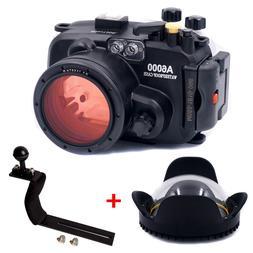 Meikon 40M Waterproof Underwater Camera Housing Case for Son