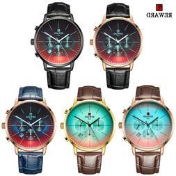 Reward Men's Luxury Watches Stainless Steel Sports Waterproo