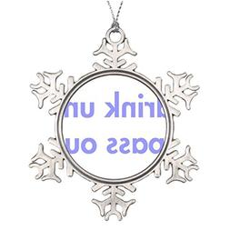 Metal Ornaments Personalised Christmas Tree Decoration I-dri