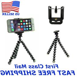 Mini Flexible Octopus Tripod Bracket Holder Mount for Cell P