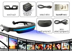 Mobile Theatre Video Glasses - Movies on 52 Inch Virtual Scr