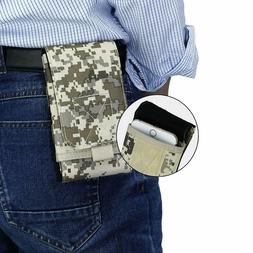 Molle Army Mobile Cell Phone Pouch Holster Case Bag Holder B