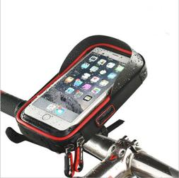 Motorcycle Bicycle Handlebar Phone case Waterproof Bag Up to
