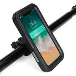 Motorcycle Bike-Handlebar Holder Mount Waterproof Case For i