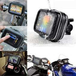 Motorcycle Handlebar Mount Holder Case Bag For Garmin Nuvi 4