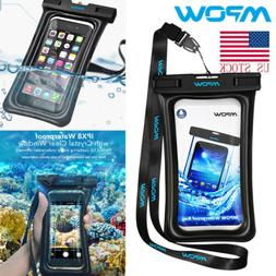MPOW Waterproof Phone Case Anti-Water Floatable Pouch Dry Ba