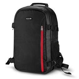Powerextra Multi-function Large DSLR Camera Backpack Laptop