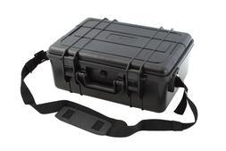 """New Black Waterproof Case 16.7"""" x 12.8"""" x 6.6"""" w/ Pelican 14"""