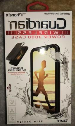 NEW iPhone X Guardian Waterproof Wireless Power 3000 Case Ch