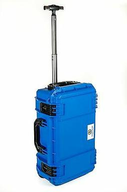 "New ""Light"" 830 Blue Seahorse SE830 Case. No foam & Pelican"