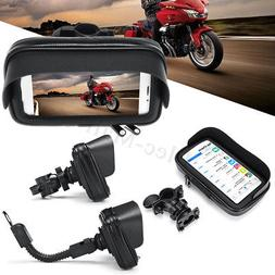 NEW Waterproof Motorcycle Bike Bicycle Handlebar Mount Phone
