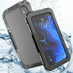 New Waterproof Shockproof TPU Hard Case Cover For iPhone XS