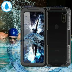 New Waterproof Shockproof TPU Hard Case Cover For iPhone X X