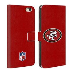 Official NFL Plain San Francisco 49Ers Logo Leather Book Wal