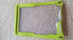 "NWOT Waterproof Tablet Case. 9.5"" x 7"", Green"