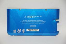 OEM Blue Pokemon Nintendo 3DS XL Housing Back Bottom Battery
