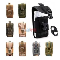 Outdoor MOLLE Tactical Waterproof Pouch Bag Cell Phone Case