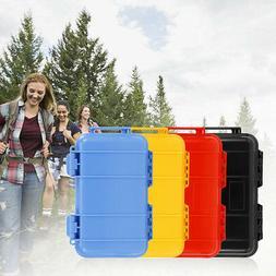Plastic Airtight Survival Storage Case Shockproof Waterproof