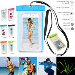 Sport Waterproof Pouch Dry Bag Fluorescent Case For iPhone 1