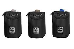 "PortaBrace PB-4LCSET Lens Cups, Set of 3, 4"", Black"