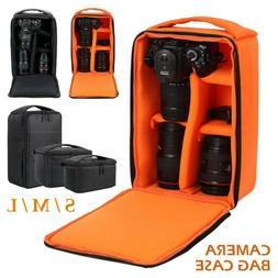 Digital DSLR Camera Backpack Case Shoulder Bag for Canon Nik