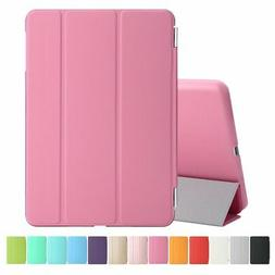 Pink iPad 4th Generation Stand Magnetic Smart Case Cover for
