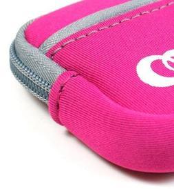 - Hot Pink Color JJAK1 High Quality Soft Mini Neoprene Sleev