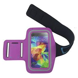 New Vinabty Hot Pink Sports Running Armband with Key Holder,