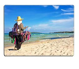 MSD Placemat Image ID 27123198 Thai woman selling beachwear