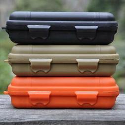 Plastic Waterproof Outdoor EDC Survival Container Storage Ca