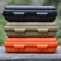 Plastic Waterproof Shockproof Survival Tool Container Storag