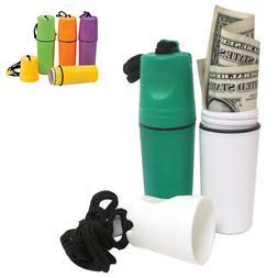 Plastic Waterproof Storage Case Money Coin Holder Container