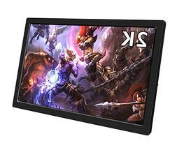 EleDuino Portable Gaming Monitor, 10.1 inch 2K Resolution IP